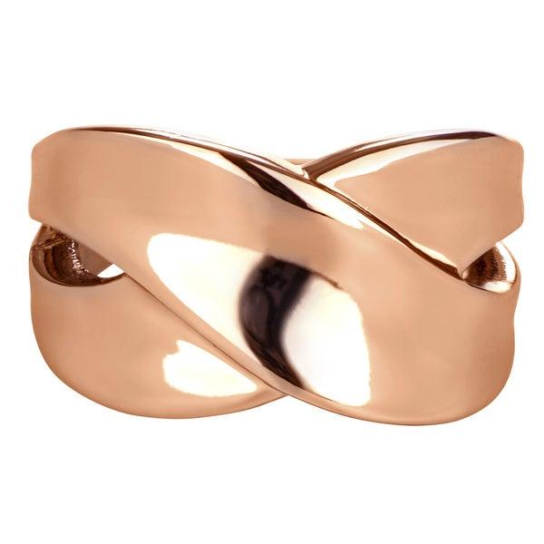 Brass Cigar Band Ring