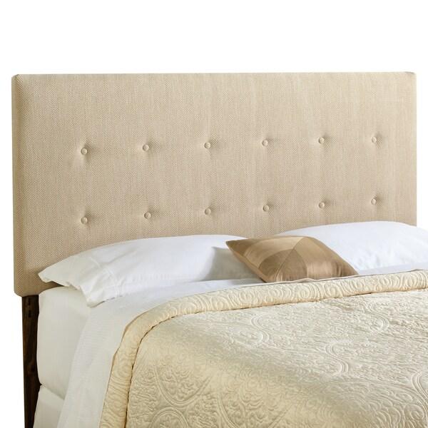 Humble + Haute Prescott Queen Size Light Sage Green Upholstered Headboard