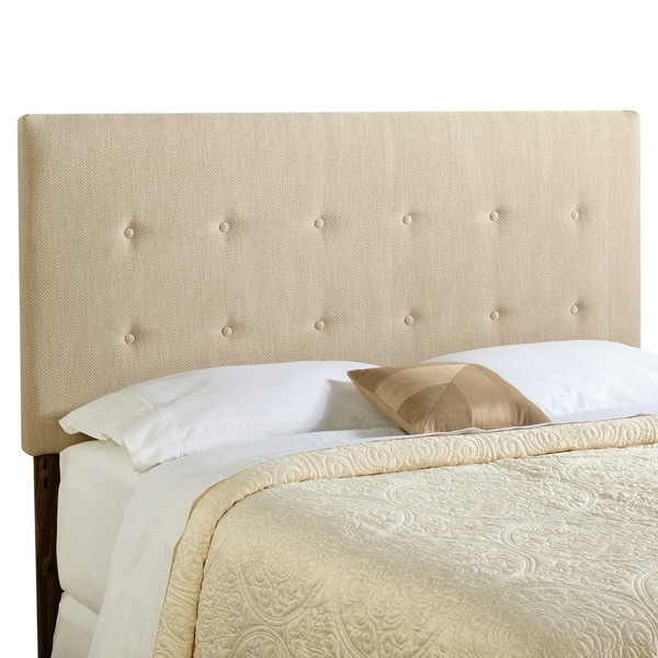 Humble + Haute Prescott Full Size Light Sage Green Upholstered Headboard