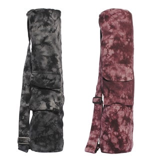 Funky Tie-Dye Yoga Mat Bag