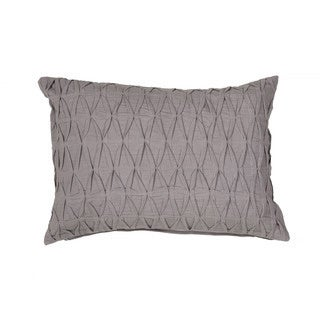 """Handmade Solid Pattern Cotton Throw Pillow 14""""x20"""" (Set of 2)"""