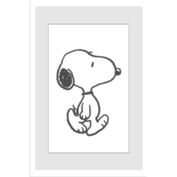 "Marmont Hill - ""Snoopy Character"" Peanuts Framed Art Print"