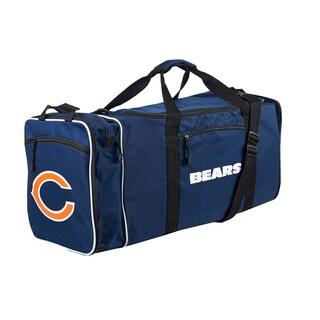 NFL Chicago Bears 28-inch Blue Duffel Bag