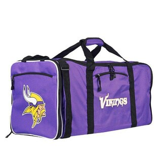 NFL Minnesota Vikings 28-inch Purple Duffel Bag