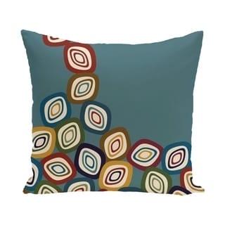 16 x 16-inch Falling Leaves Geometric Print Pillow
