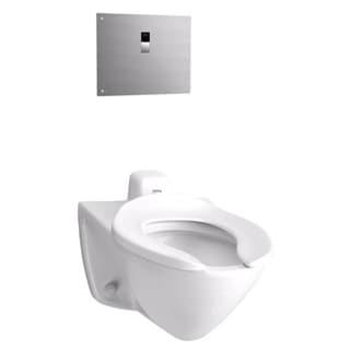 Toto CT708EV#01 Cotton White Commercial 2-piece Toilet