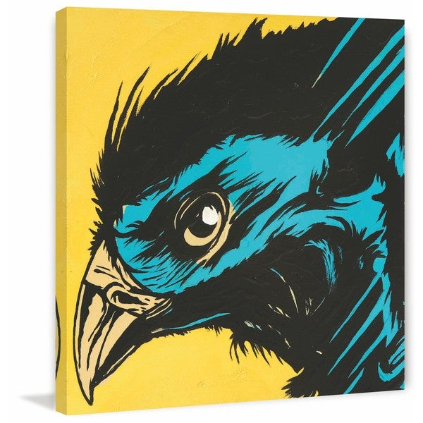 """Marmont Hill - """"Raven 1"""" Print on Canvas"""
