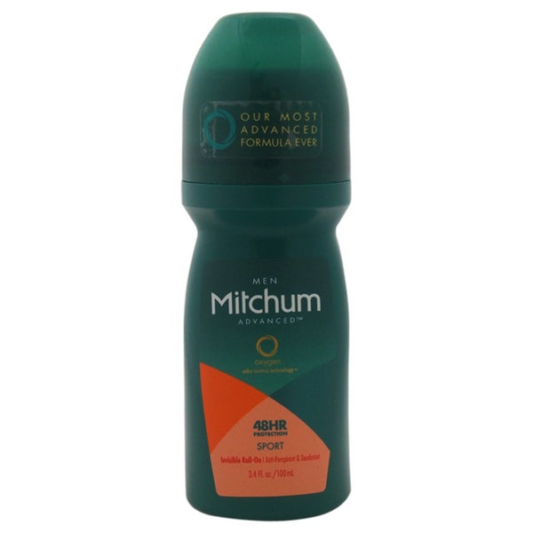Mitchum Oxygen Odor Control 48hr Protection Sport Men's 3.4-ounce Deodorant