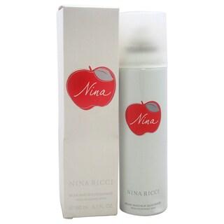 Nina by Nina Ricci Women's 5-ounce Deodorant Spray