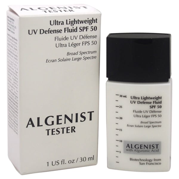 Algenist Ultra Lightweight 1-ounce UV Defense Fluid SPF 50 (Tester)