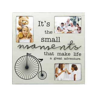 Melannco 3-opening Moments Sentiment Picture Frame
