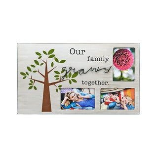 Melannco 3-opening Sentiment Family Picture Frame