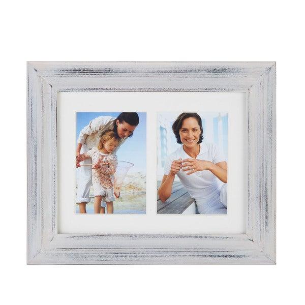 Melannco 2-opening White Frame