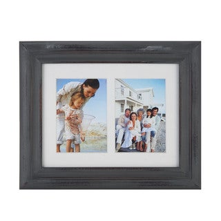 Melannco Distressed Grey Picture Frame
