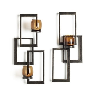 Mikasa Soho Goldtone Sconces (Set of 2)
