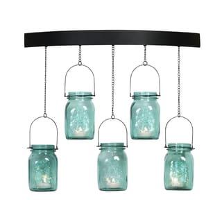 Pfaltzgraff 5-light Mason Jar Arch Sconce