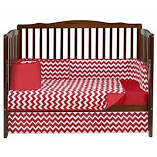Baby Doll Chevron Crib Bedding Set