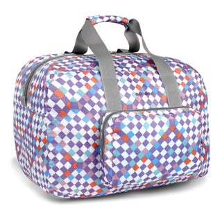 J World Checkmate Buena Foldable 19-inch Carry-on Duffel Bag