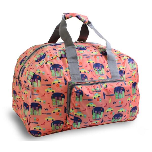 J World New York Buena Foldable 19-inch Carry-on Duffel Bag