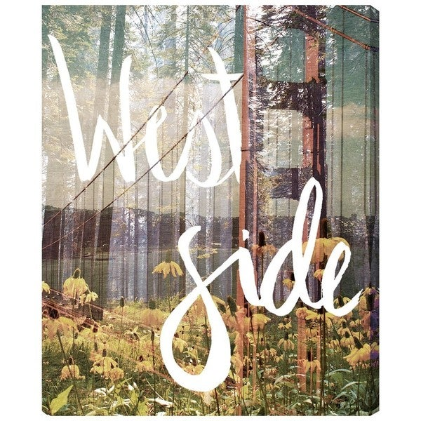 Runway Avenue 'West Side' Canvas Art