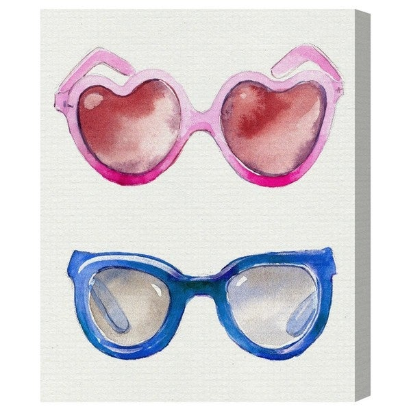 Runway Avenue 'Trendy Spectacles ' Canvas Art