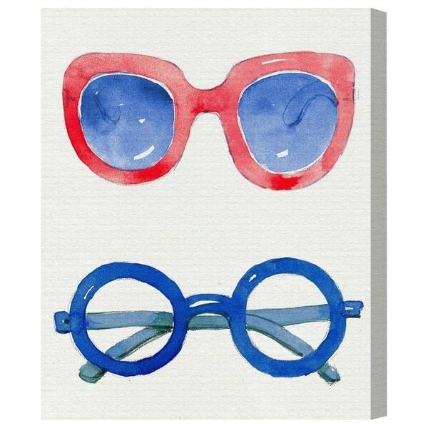 Runway Avenue 'Trendy Spectacles II' Canvas Art