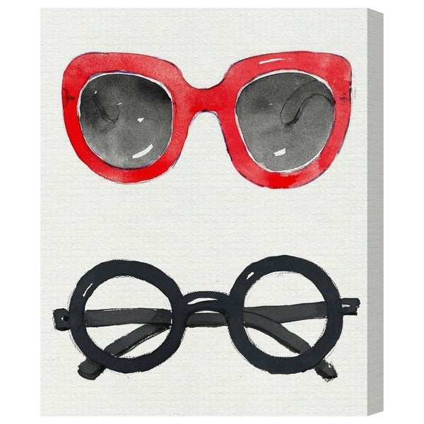 Runway Avenue 'Trendy Spectacles III' Canvas Art