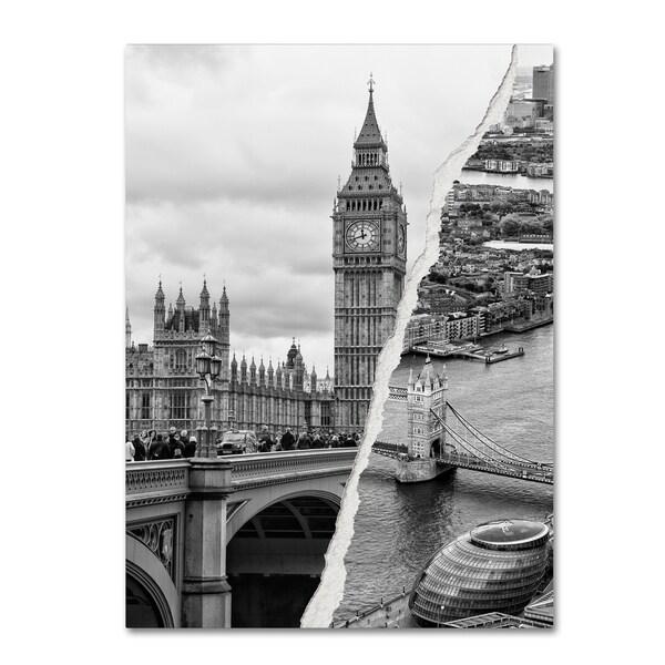 Philippe Hugonnard 'City of London' Canvas Wall Art