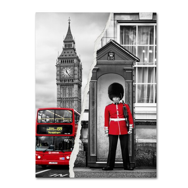 Philippe Hugonnard 'Look at London' Canvas Wall Art