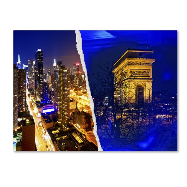 Philippe Hugonnard 'Cities at Night' Canvas Wall Art
