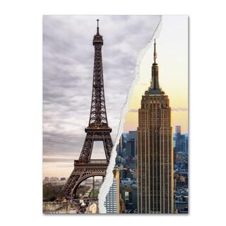Philippe Hugonnard 'The Empire Eiffel' Canvas Wall Art