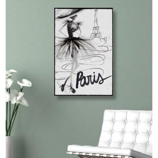 Runway Avenue 'Fashion Doll Paris' Canvas Art