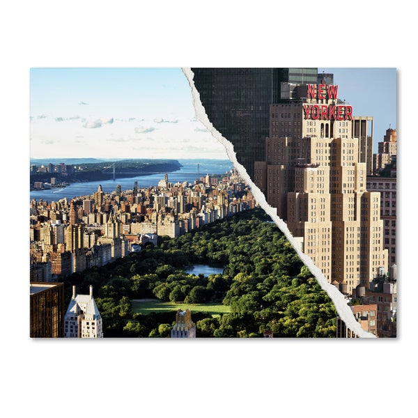 Philippe Hugonnard 'Central Park View' Canvas Wall Art