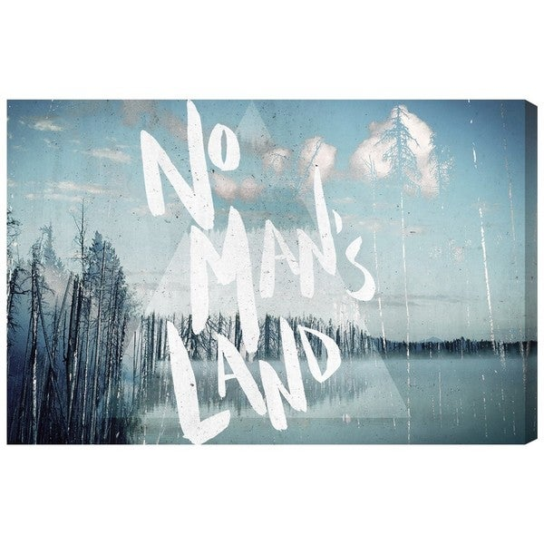 Runway Avenue 'No Man's Land' Canvas Art