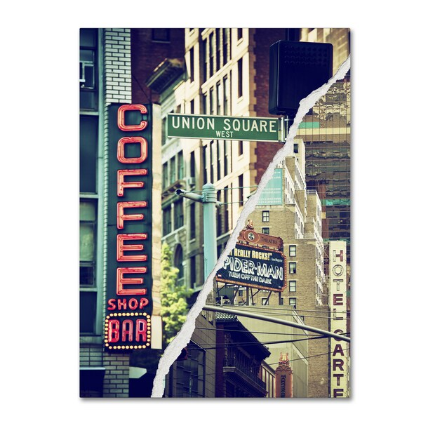 Philippe Hugonnard 'New York Atmosphere' Canvas Wall Art