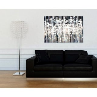 Runway Avenue 'Diamond Shower' Canvas Art