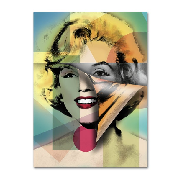 Mark Ashkenazi 'Marilyn Monroe IV' Canvas Wall Art
