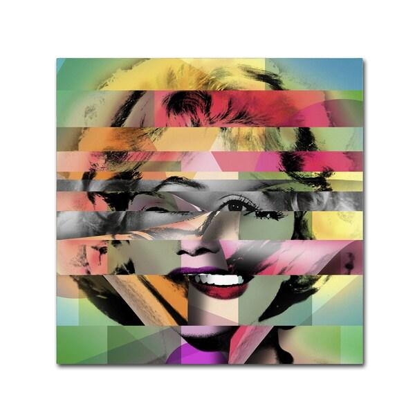 Mark Ashkenazi 'Marilyn Monroe V' Canvas Wall Art