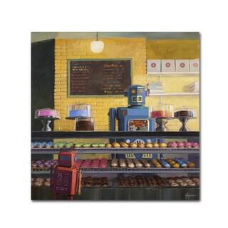 Eric Joyner 'Indecision' Canvas Wall Art