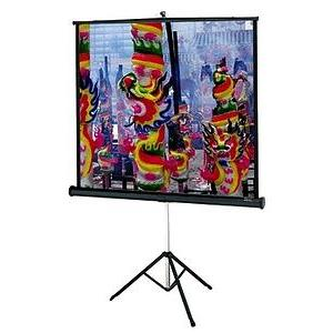 60 in. x 60 in. Da-Lite Versatol Portable and Tripod Projection Screen