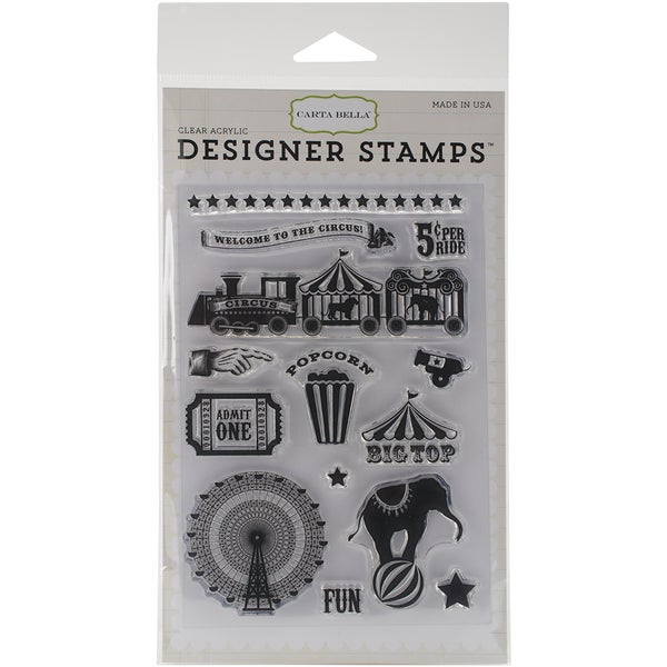 Carta Bella Stamps 4inX6inBig Top
