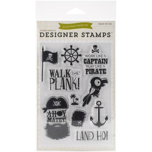 Echo Park Stamp 4inX6inAhoy Mateys