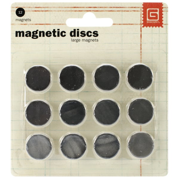 Magnetic Discs .625in 12/Pkg1/32in Thick