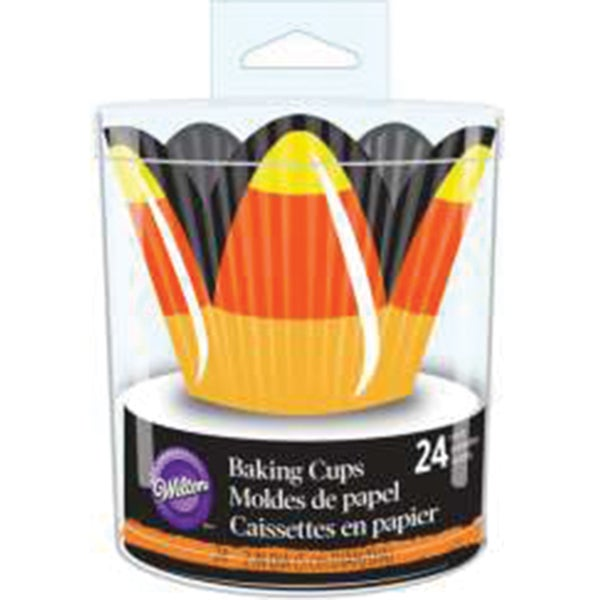 Petal Baking CupsCandy Corn 24/Pkg 16139830