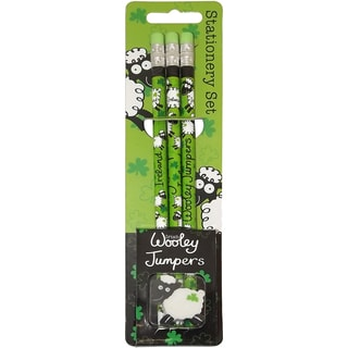 Wooly Jumper Pencils 3/Pkg