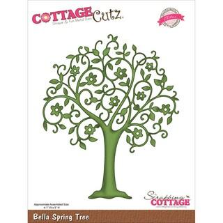 CottageCutz Elites Die Bella Spring Tree 4.1inX5in