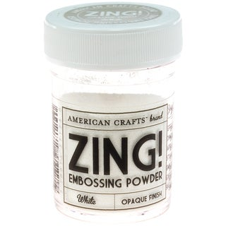 Zing! Opaque Embossing Powder 1ozWhite