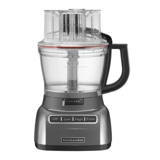 KitchenAid KFP1333QG Liquid Graphite 13-cup Food Procesor with Exactslice