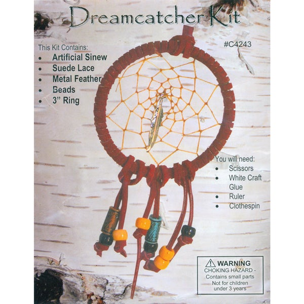 Leathercraft KitMini Dreamcatcher 3in
