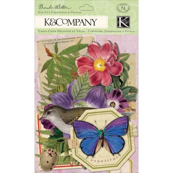 Flora & Fauna Cardstock & Vellum DieCuts